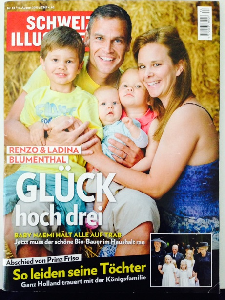 FranCa in Schweizer Illustrierte November 13