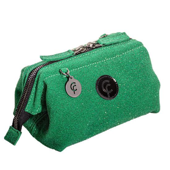 FranCa cosmetic pouch verde diamante