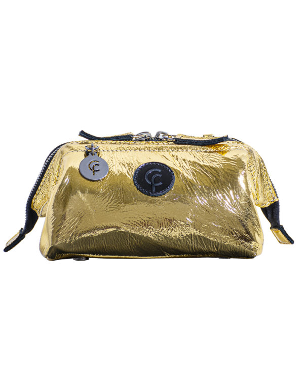 FranCa Cosmetic Pouch ORO LACK front